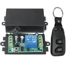 geekcreit® 433mhz <b>dc 12v</b> 10a relay 1ch channel wireless <b>rf remote</b> ...
