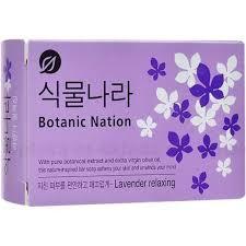 <b>LION Мыло туалетное Botanical</b> Nation с экстракт лаванды, 100 ...