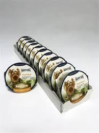 Влажный <b>корм для собак</b> NaturLine индейка <b>паштет</b>, 11 шт по 85 ...