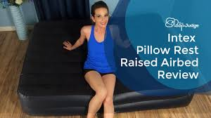 <b>Intex Pillow</b> Rest Raised Airbed Review - YouTube