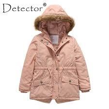<b>Detector</b> Girls Sports <b>Coat Children's</b> Autumn <b>Winter</b> Clothes Kid's ...