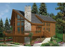 Chalet House Plans at Dream Home Source   Swiss Style Chalet HomesDHSW