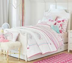 Pottery Barn Girls Bedroom Rainbow Quilted Bedding Pottery Barn Kids