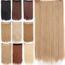 <b>Long</b> Artificial Hair Synthetic Clip in One Piece Hair Extension ...