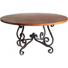 person dining room table foter: french iron dining table with  in