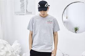 <b>HFNF</b> Men's T Shirt Casual Letter Printed Male T Shirt <b>2019</b> Summer ...