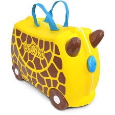 Купить чемодан <b>Trunki</b> на колесиках Жираф Джери 0265-GB01 в ...