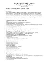veterinary technician resume my work veterinary veterinary technician resume
