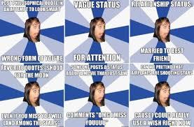 Pictures > annoying facebook status meme via Relatably.com
