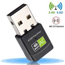 <b>Free Driver</b> USB <b>Wifi Adapter 600Mbps Wi fi Adapter</b> 5 Ghz Antenna ...