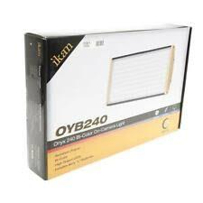 Ikan Onyx 30W Bi-Color Aluminum On-Camera LED Light - Graphite ...