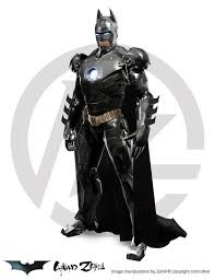 iron bat batman iron man mashup batman iron man fanboy