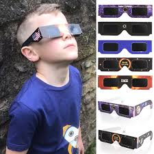 Environmental Protection Pet Solar <b>Eclipse</b> Glasses Random Color ...