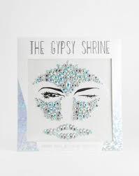 <b>Стразы для лица</b> на Хэллоуин The Gypsy Shrine | ASOS