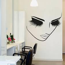 <b>YOYOYU</b> 40 colors <b>Vinyl</b> wall stickers muraux Lashes <b>Beauty</b> Salon ...