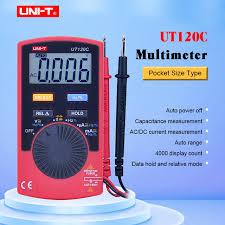 <b>UNI</b>-<b>T UT120C</b> ультра-переносной автоматический диапазон ...