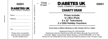Raffle Tickets · Draw Tickets · Raffle Ticket Printing UK