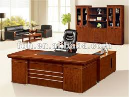 wood office table incredible hight brilliant wood office desk