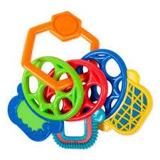 <b>Прорезыватель Разноцветные ключики Oball</b> 81523 купить в ...