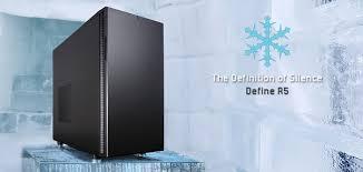 <b>Fractal Design</b> выпустила корпус Define R5 для тихих и мощных ПК