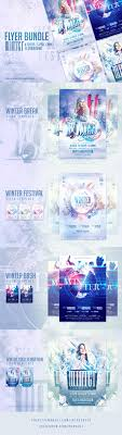 best images about flyer template adobe photoshop winter flyer bundle 12 4 flyers available 11 variations check here for detail