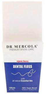 Dr. Mercola <b>зубная</b> нить Premium <b>Dental Care</b> — купить по ...