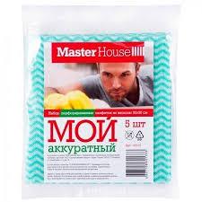 <b>Master House Набор</b> из 5-ти <b>салфеток</b> перф. из вискозы МОЙ ...