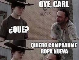 Carl & Rick Meme ^The Walking Dead^ - Taringa! via Relatably.com