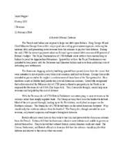 french and indian war study resources french and indian war essays