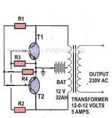 circuit diagram for 6v cfl adaptor the wiring diagram making a simple inverter circuit electronic circuit projects wiring diagram