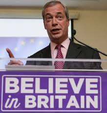 eu migrants will be banned from coming to britain unless they have was forced to defend herself after ex ukip leader nigel farage accused her of