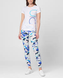 <b>Белая футболка с принтом</b> Juicy Couture - цена 4 200 ₽