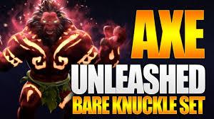 Dota <b>2</b> Axe Unleashed - Exclusive <b>Bare</b> Knuckles <b>Set</b> - TI9 Battle ...