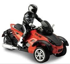 <b>Радиоуправляемый мотоцикл Yuan DI</b> трицикл 27.5 см 1 : 10