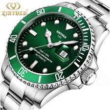 <b>KINYUED</b> Luxury Brand <b>Automatic Mechanical</b> Business Auto Date ...