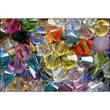 Swarovski 5328 Bead Assortment, <b>Faceted</b> XILION Bicone, 6mm ...