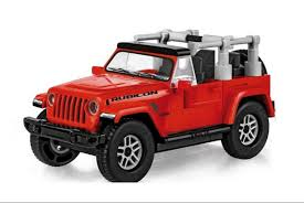 <b>Конструктор COBI</b> Джип <b>Jeep Wrangler</b> Rubicon COBI-24114 ...