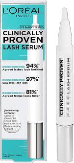 <b>L</b>'<b>Oreal</b> Paris <b>Clinically Proven</b> Lash Serum for Stronger, Thicker ...