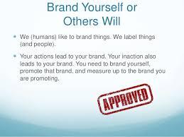 Essay on branding yourself at work   americancatholic us