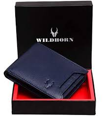 WildHorn® RFID Protected Genuine <b>High Quality Leather</b> Wallet for ...