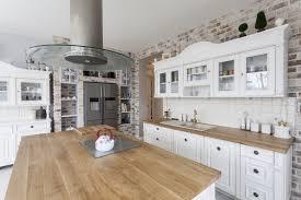 euro week full kitchen: a white and wood kitchen photographeeeu  a white and wood kitchen