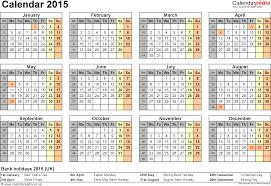 calendar uk printable word templates template 8 yearly calendar 2015 as word template year overview 1 page
