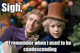 Reflecting Wonka memes | quickmeme via Relatably.com