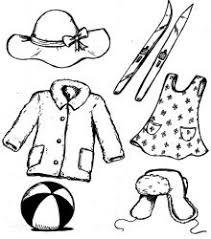 <b>Раскраска одежда</b> для <b>детей</b>