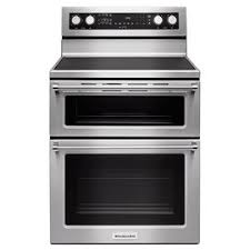 "Kitchenaid 30"" 5-burner <b>Electric Double</b> Oven Convection Range ..."