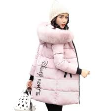 <b>2019 New Fashion Women</b> Winter Jacket With Fur collar Warm ...