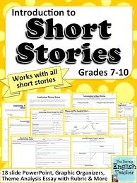 short stories  high school students and high schools on pinterestteach your middle and high school students all about short stories   this unit  it