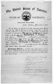 electoral college what is it different types process examples english a certificate for the electoral vote for rutherford b hayes and william a