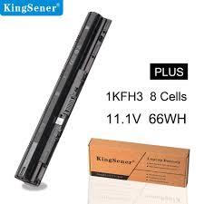 <b>KingSener 66Wh 1KFH3 Laptop</b> Battery for Dell Inspiron 14 15 3000 ...
