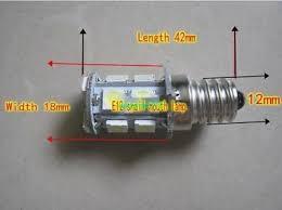 <b>2pcs</b> DC/<b>AC 12V</b>/18V/24V 3W E12 screw bulb <b>LED</b> energy saving ...